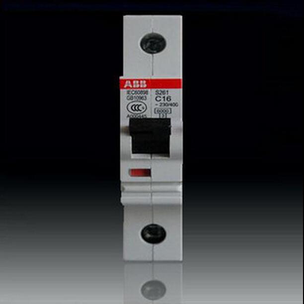 abb小型断路器单进单出空气开关1p25a 单联单极空s261-c25